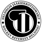 Helsingin Jääkiekkotuomarit HJT ry Logo